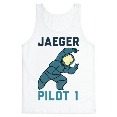 Jaeger Pilot 1 (1 of 2 set) Tank Top