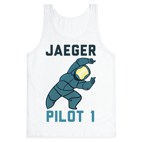 Jaeger Pilot 1 (1 of 2 set) Tank Top