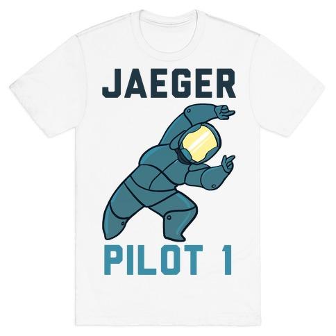 Jaeger Pilot 1 (1 of 2 set) T-Shirt