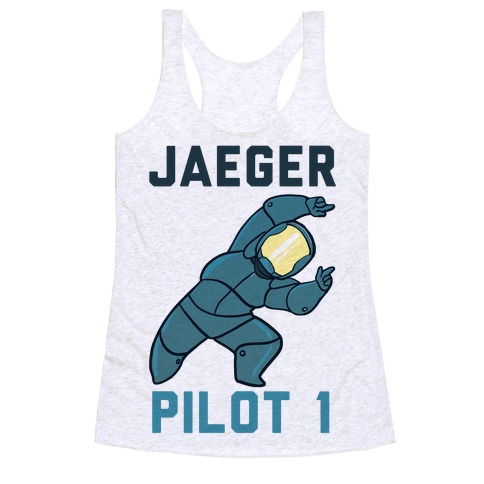 Jaeger Pilot 1 (1 of 2 set) Racerback Tank Top