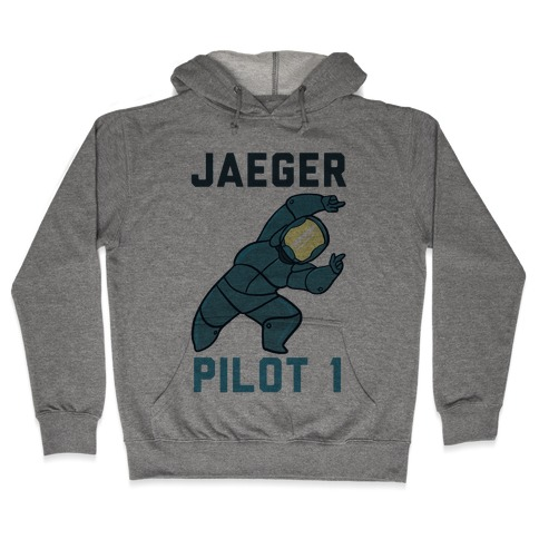 Jaeger Pilot 1 (1 of 2 set) Hooded Sweatshirt