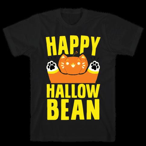 Happy Hallowbean Mens/Unisex T-Shirt