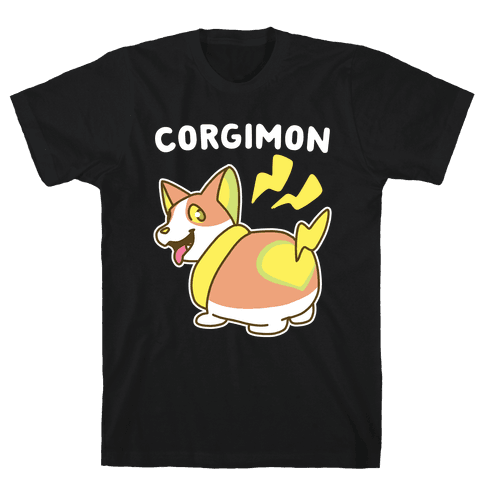 Corgimon Mens/Unisex T-Shirt
