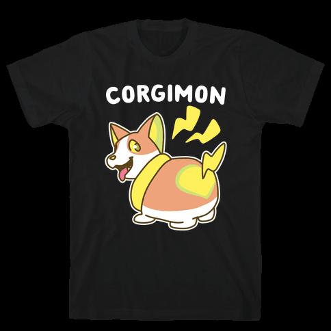 Corgimon Mens/Unisex T-Shirt
