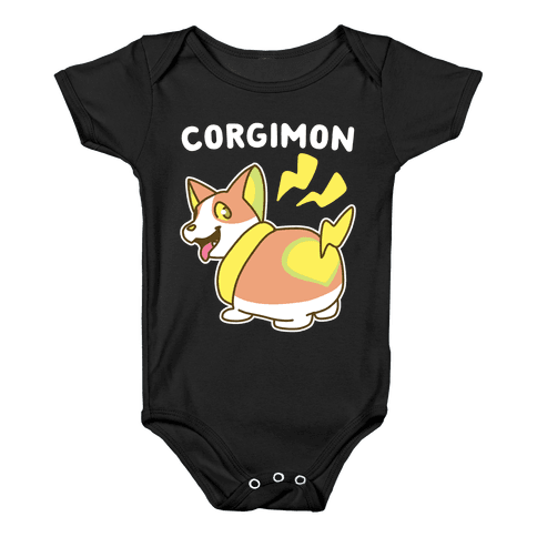 Corgimon Baby Onesy