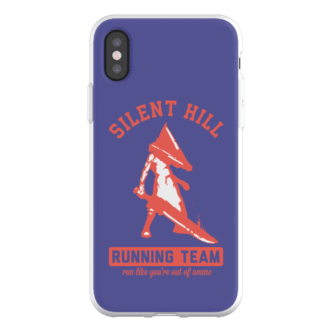 Silent Hill Running Team Phone Flexi-Case