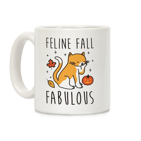 Feline Fall Fabulous Coffee Mug