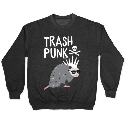 Trash Punk Possum Pullover