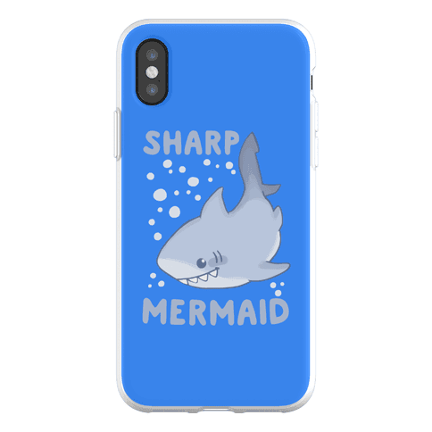 Sharp Mermaid Phone Flexi-Case