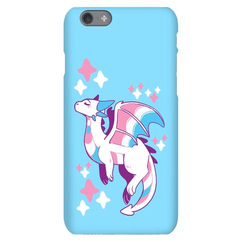Trans Pride Dragon Phone Case