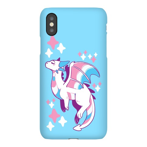 Trans Pride Dragon Phone Case