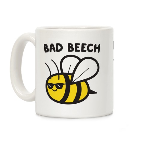 Bad Beech Bee Coffee Mug