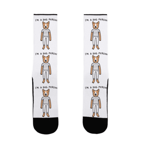 I'm A Dog Person Sock