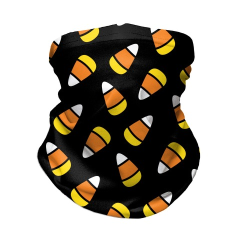 Candy Corn Pattern Neck Gaiter