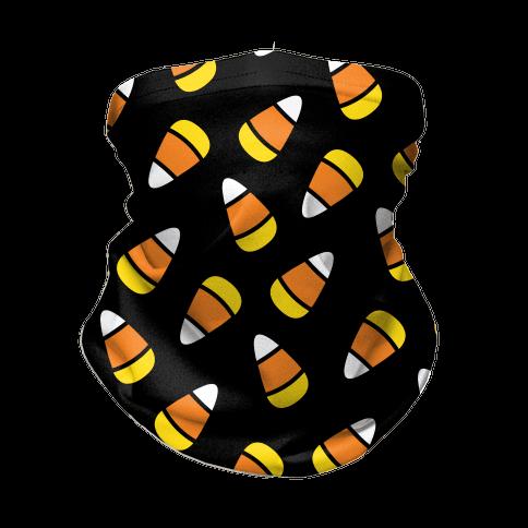 Candy Corn Pattern Neck Gaiter
