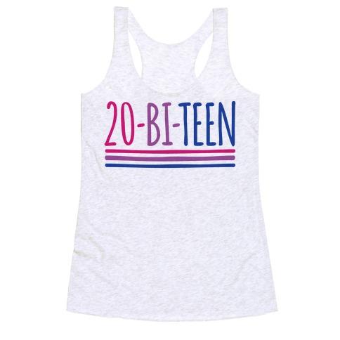 20-Bi-Teen  Racerback Tank Top