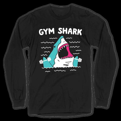 Gym Shark Long Sleeve T-Shirt