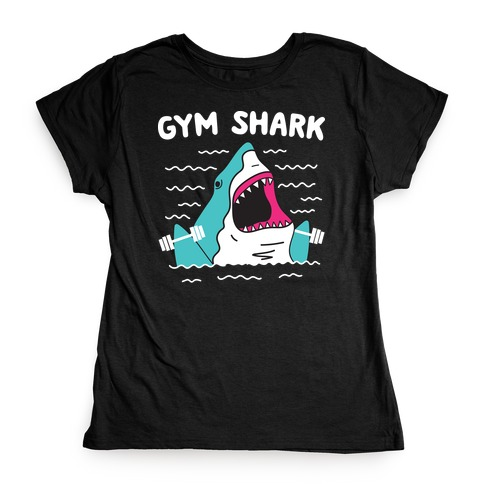Gym Shark Womens T-Shirt