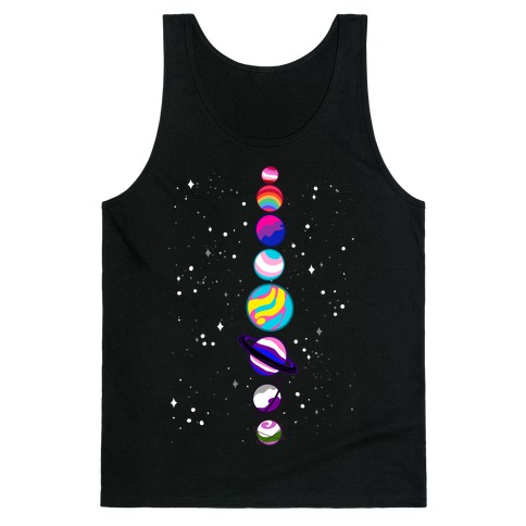 LGBTQ+ Planets Tank Top