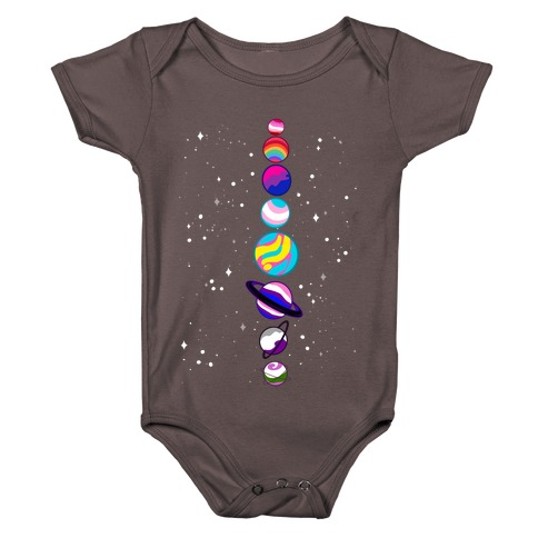 LGBTQ+ Planets Baby One-Piece