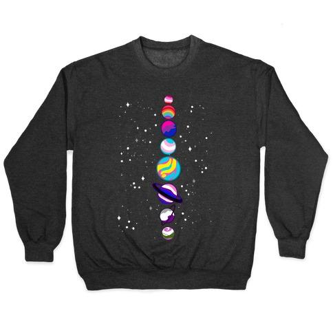 LGBTQ+ Planets Pullover