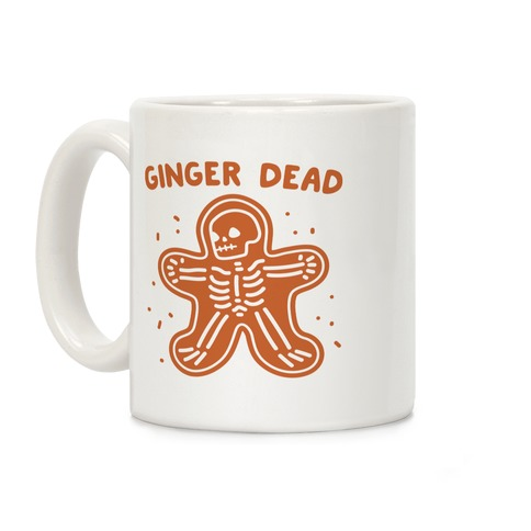 Ginger Dead Skeleton Cookie Coffee Mug