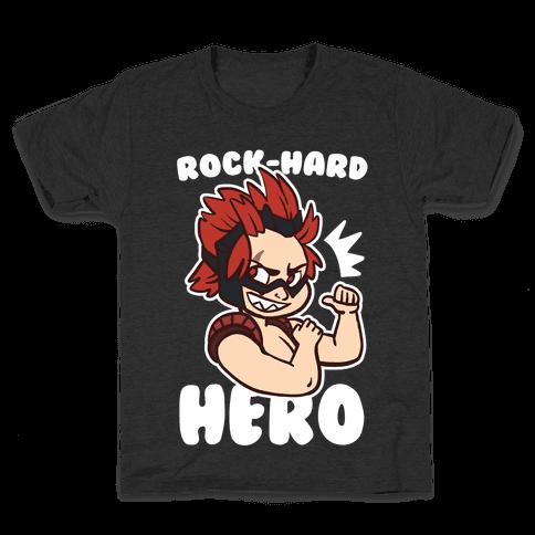 Rock-Hard Hero - Kirishima  Kids T-Shirt