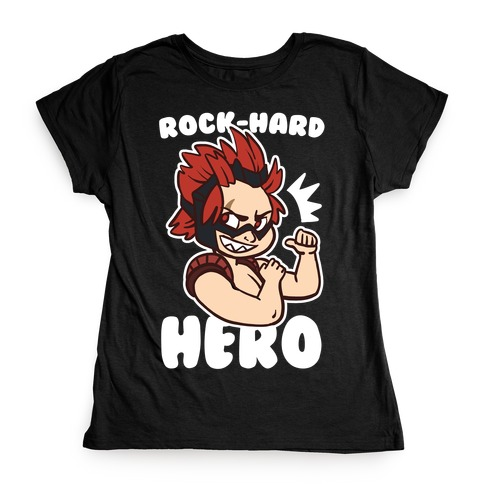 Rock-Hard Hero - Kirishima Womens T-Shirt