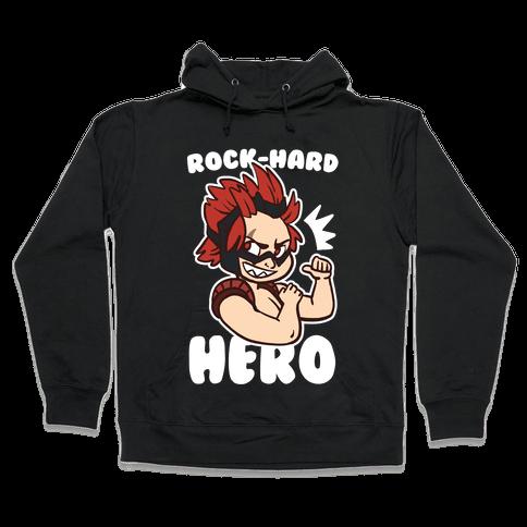 Rock-Hard Hero - Kirishima  Hooded Sweatshirt