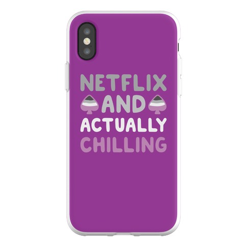 Netflix And Actually Chilling Phone Flexi-Case