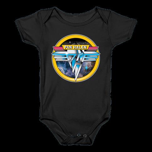 Pan Halen Baby Onesy
