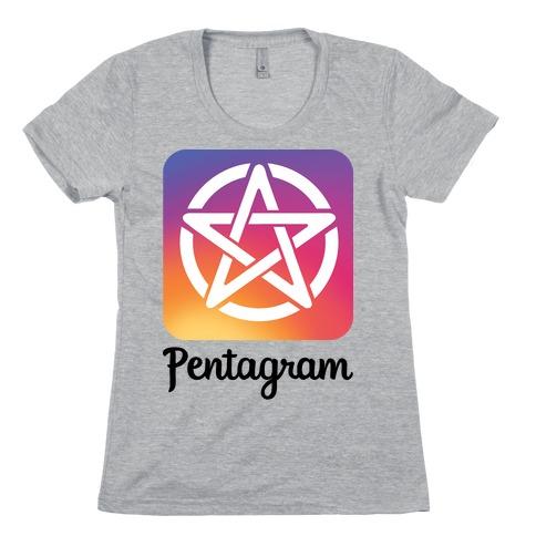 Pentagram Instagram Parody Womens T-Shirt