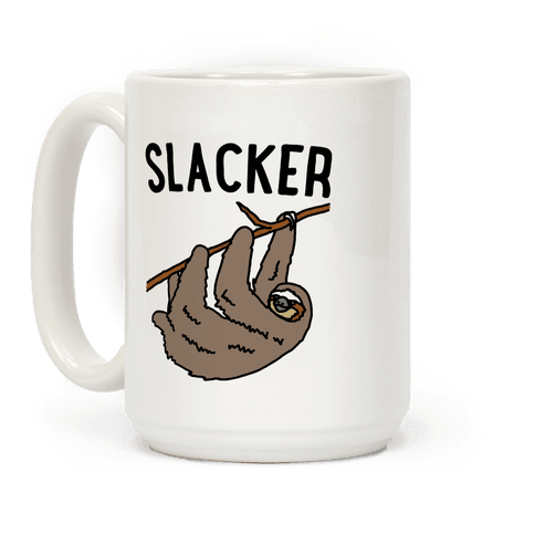 Slacker Sloth  Coffee Mug