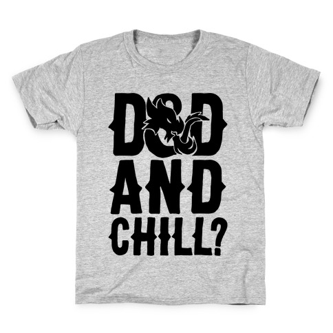 D & D and Chill Parody Kids T-Shirt