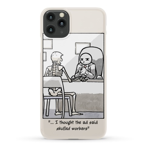Skulled Workers Phone Case