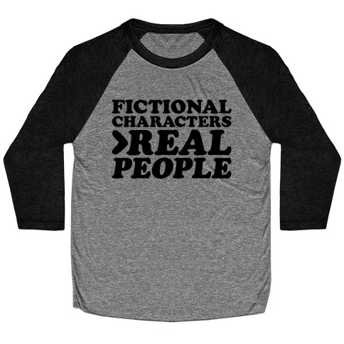 Fictional Characters > Real People Baseball Tee