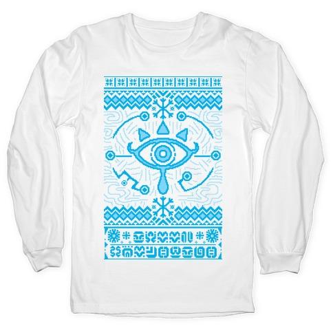 Gamer Ancient Technology Sweater Long Sleeve T-Shirt