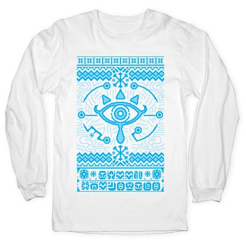 Gamer Ancient Technology Sweater Long Sleeve T-Shirt