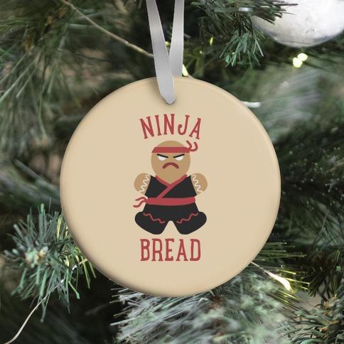 Ninja Bread Ornament