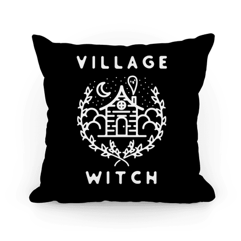 Village Witch Pillow
