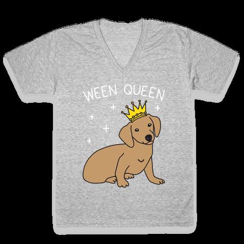 Ween Queen V-Neck Tee Shirt