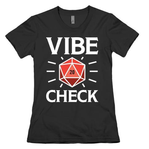 Vibe Check D20 Womens T-Shirt