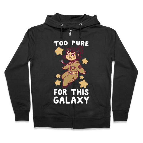Too Pure For This Galaxy - Rose Tico Zip Hoodie
