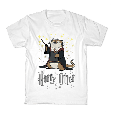 Harry Otter Kids T-Shirt