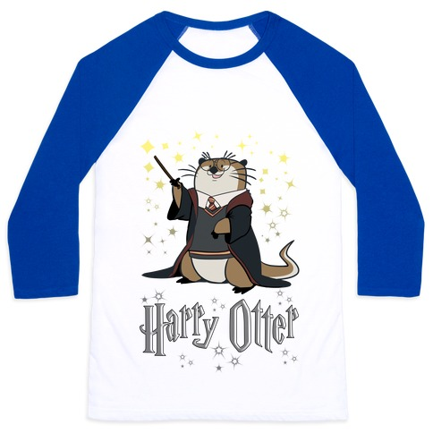 Harry Otter Baseball Tee