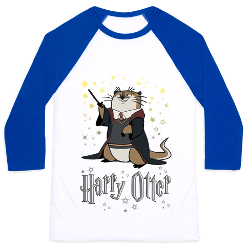 Harry Otter Baseball Tee