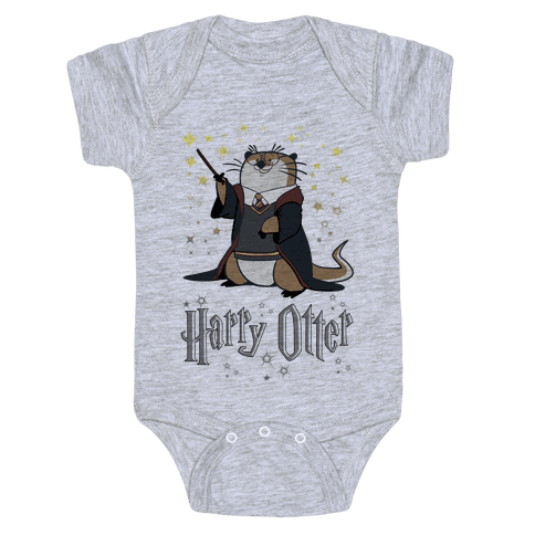 Harry Otter Baby Onesy