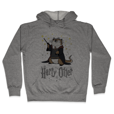 Harry Otter Hooded Sweatshirt