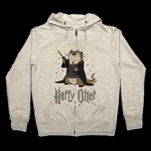 Harry Otter Zip Hoodie