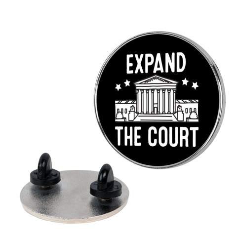 Expand The Court Pin